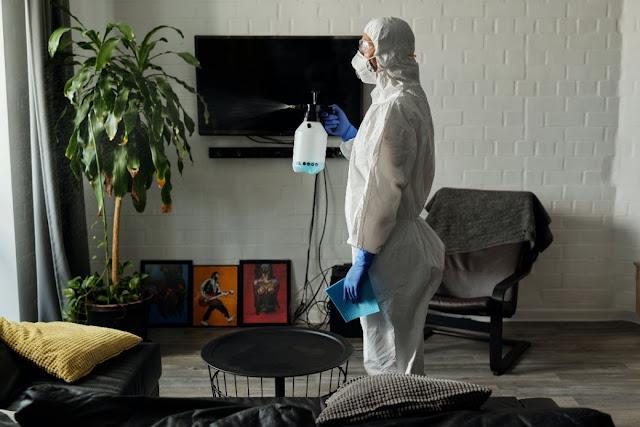 Penyemprotan Disinfektan Penting untuk Membasmi Virus