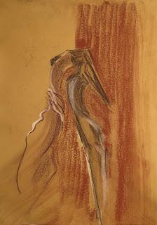 207 - ©Edith Smets - Couple de tango 35/50 pastel