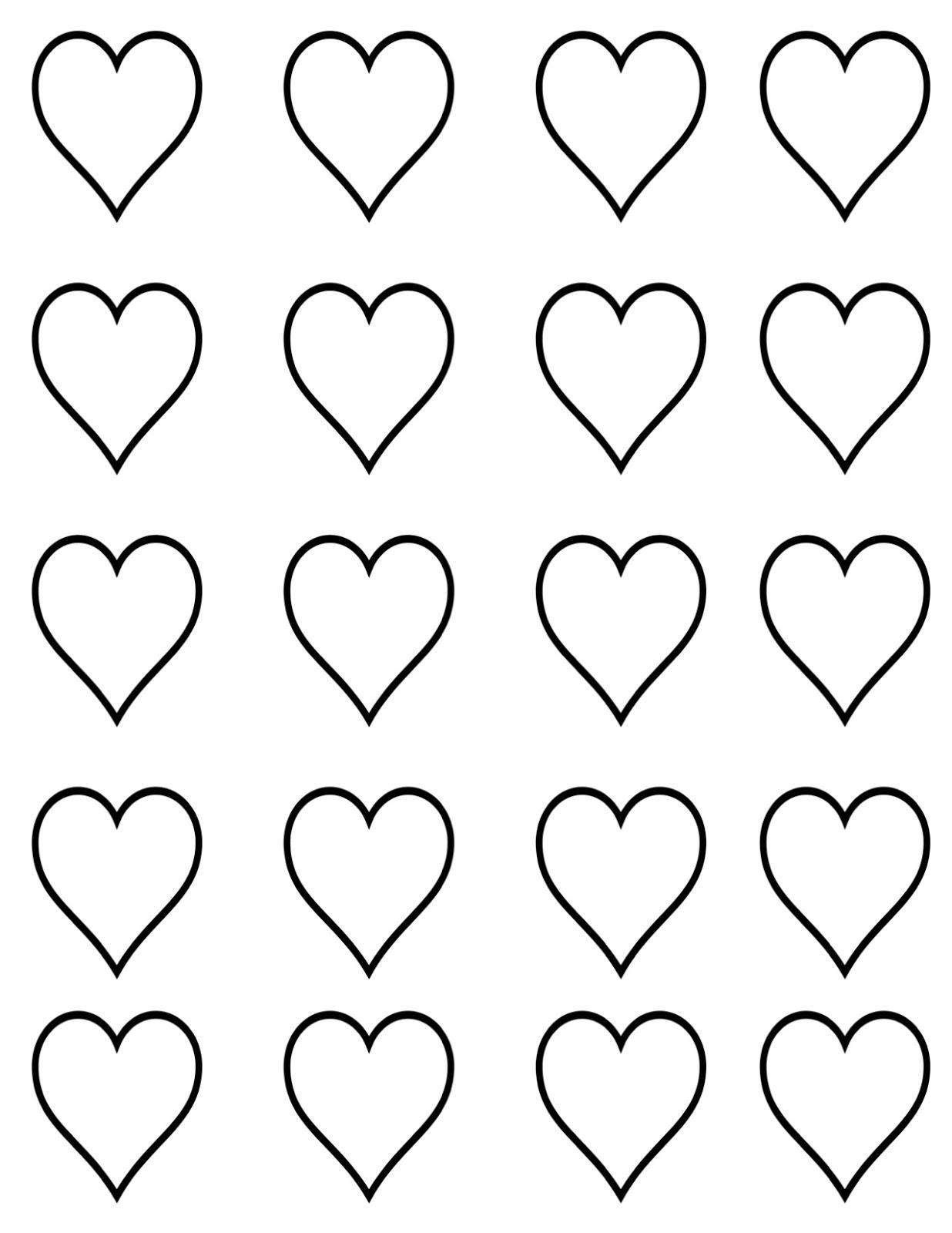 full page heart template - creative juice tutorial cupid heart macarons