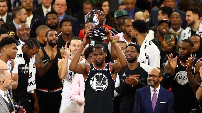 Durant MVP Dan Tim Lebron Kalahkan Team Giannis Di NBA All Star 2019