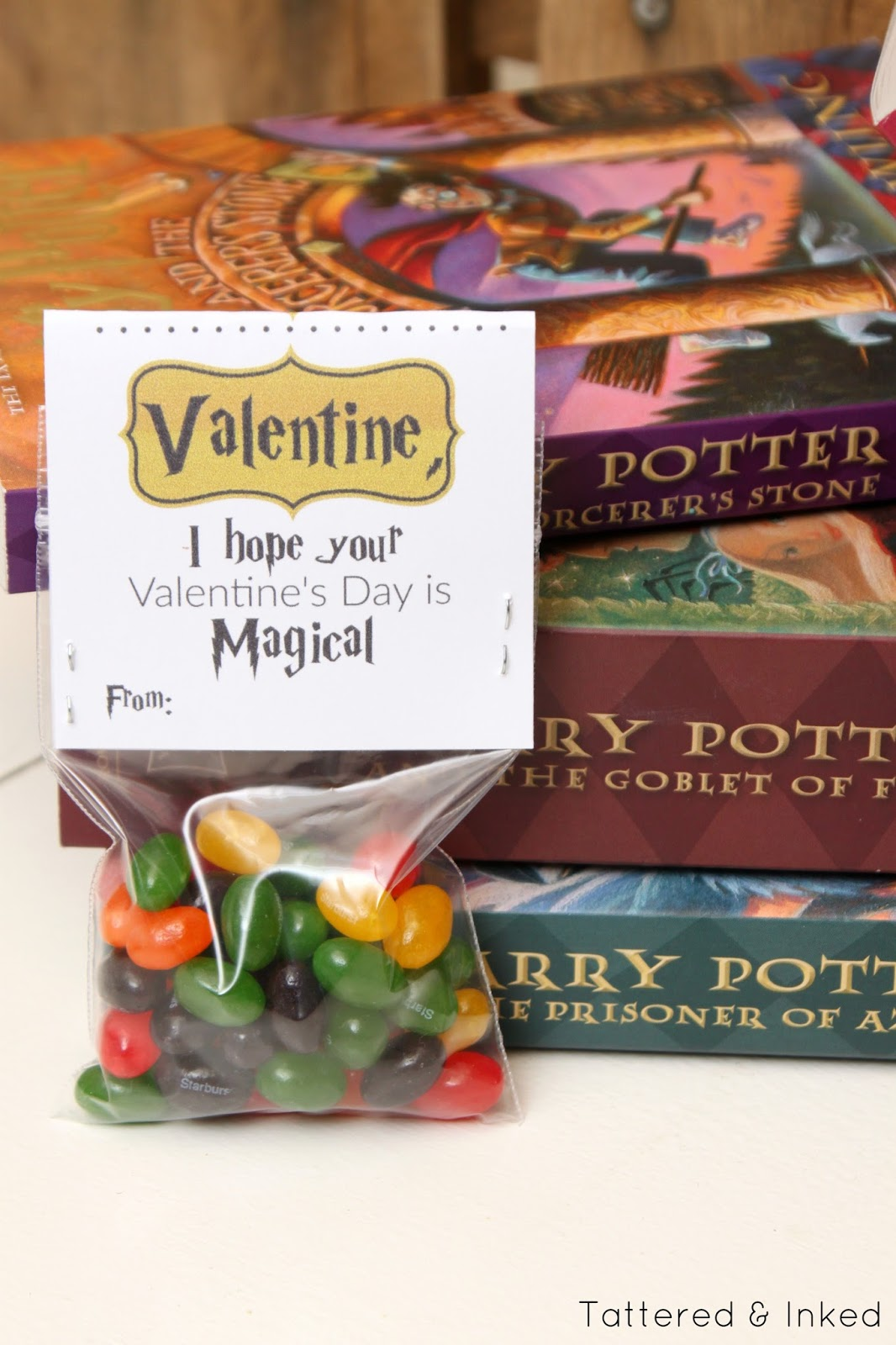 Tattered And Inked Harry Potter Themed Printable Valentines