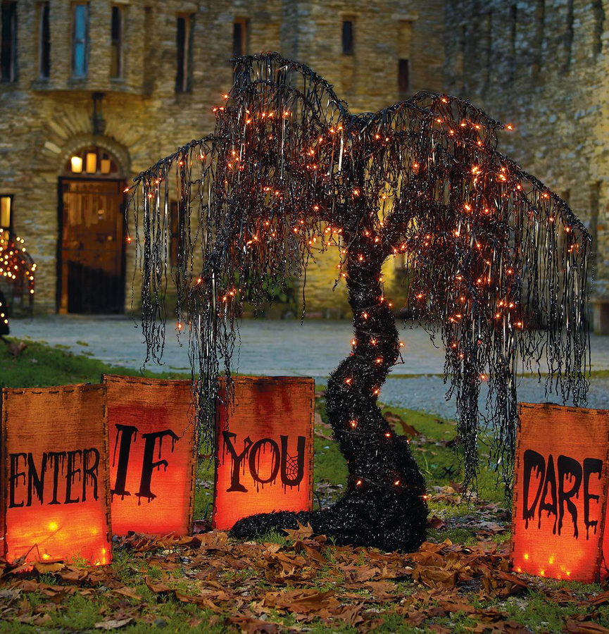 Grandinroad 'ENTER IF YOU DARE' LUMINARIES
