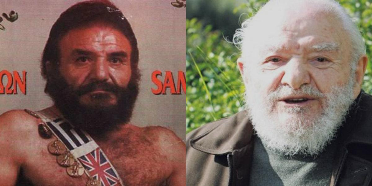 Πέθανε στα 90 του ο θρυλικός μασίστας Σαμψών