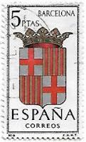 Selo Brasão de Barcelona