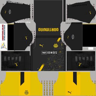 BVB Borussia Dortmund Kit 20/21, DLS 19
