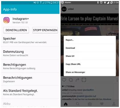 Instagram Plus Mod Apk