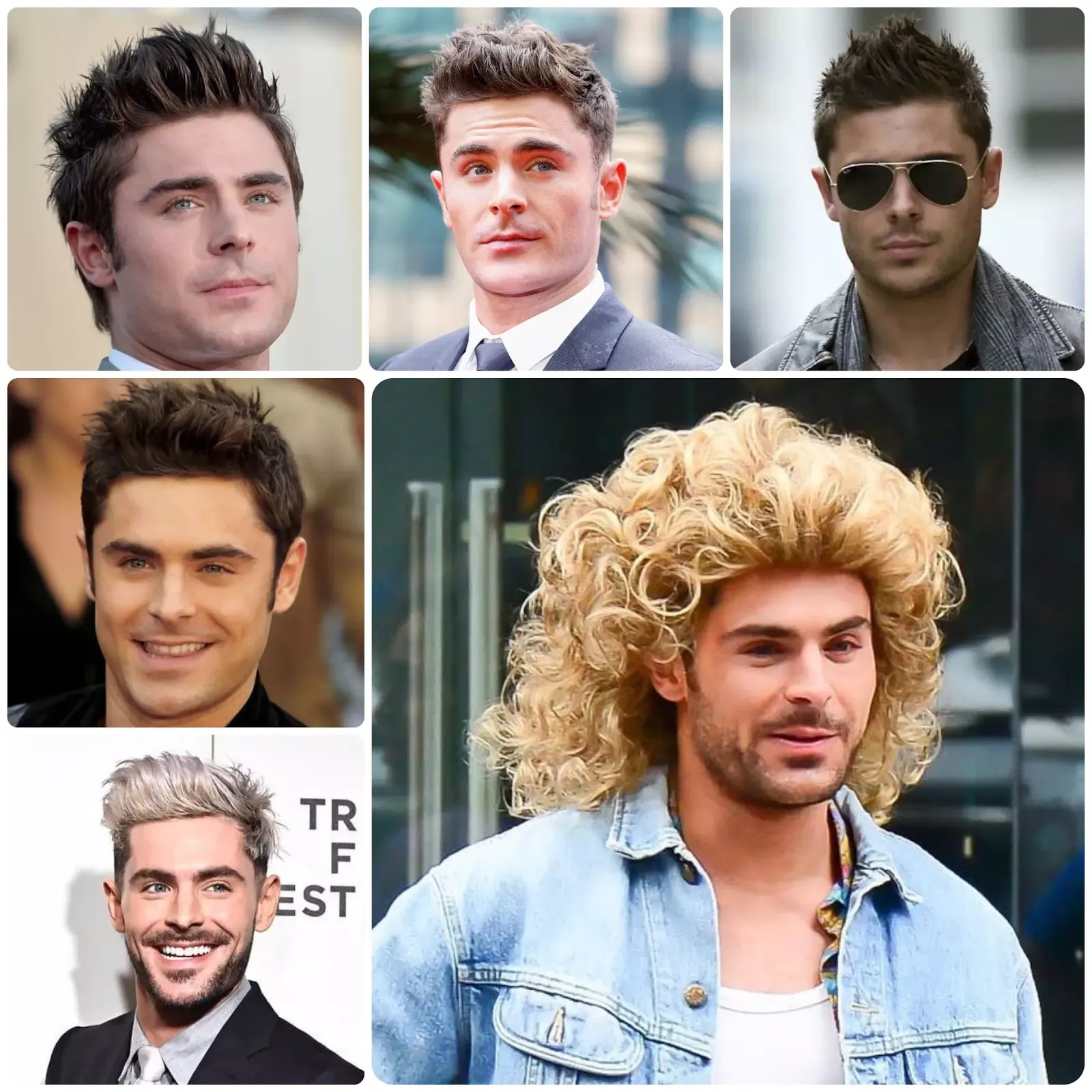 Zac Efron Hairstyles with Haircut Name - Star Hairstyles