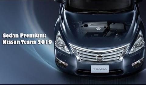 Sedan Premium: Nissan Teana 2019