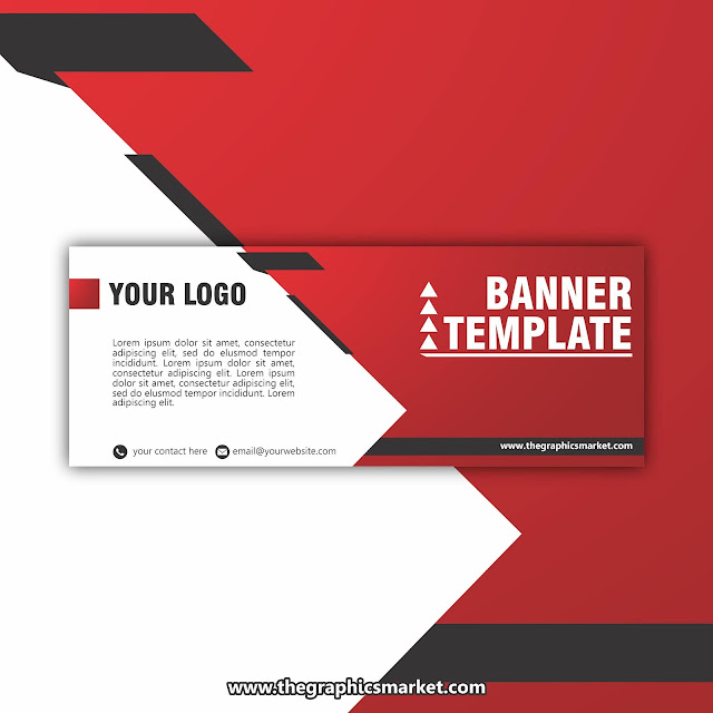 free company business banner design template download,