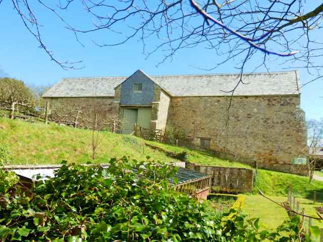 Trerice House barn, Cornwall