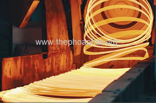 Sản xuất thép cuộn Hòa Phát