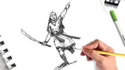 Lachit Divas Online Drawing Competition 2019 - School Level