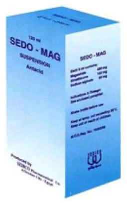 سعر دواء سيدو ماج Sedo-Mag لعلاج الحموضة