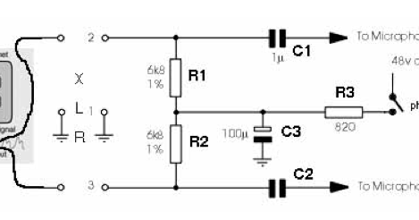 Phantom Power Wiring Diagram Phantom Circuit Wiring
