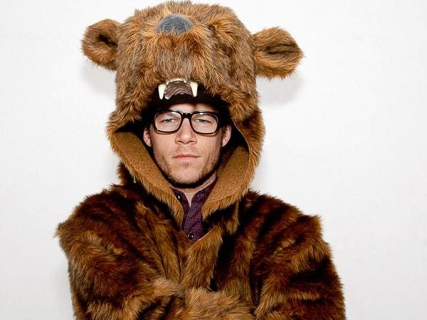 Пальто в виде медведя
