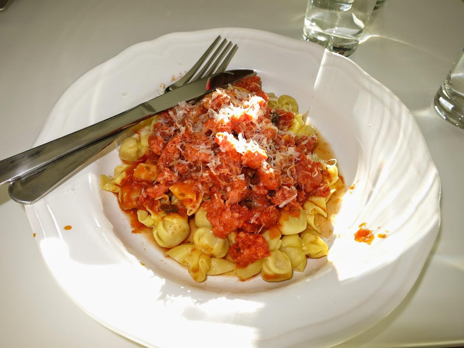 Pasta med farsk tomat
