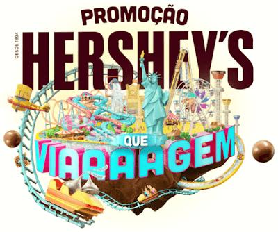 Promoção HERSHEY'S QUE VIAAAAGEM. #HERSHEYSBR #HersheysPraTodoMundo #páscoa #topdapromocao #HersheysPark #promoção #sorteio