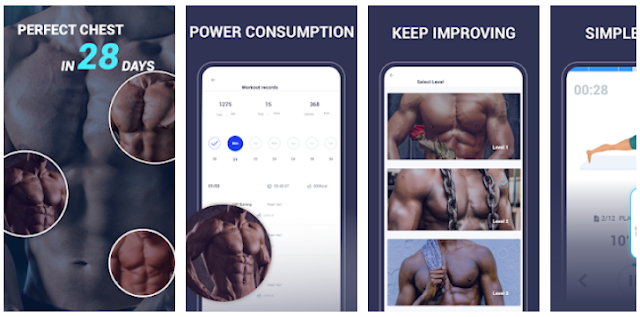 Youth Apps - Chest Master - Chest Exercise Mobile App