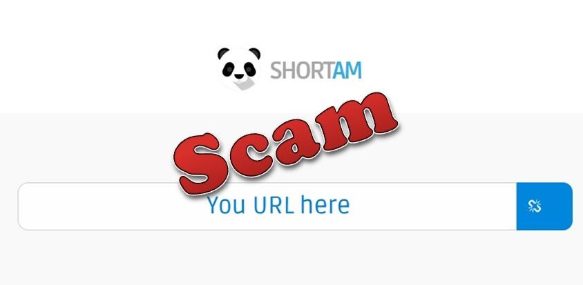Short.am no paga - Scam
