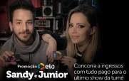 Cadastrar Promoção Elo Ingressos Sandy e Junior Com Tudo Pago Último Show Turnê