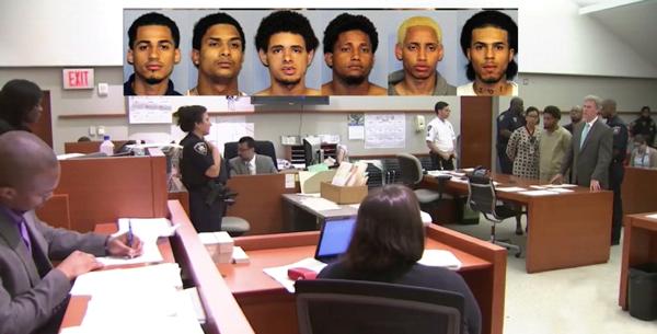 Trinitarios acusados del asesinato de Junior se niegan a testificar ante el Gran Jurado en corte de El Bronx