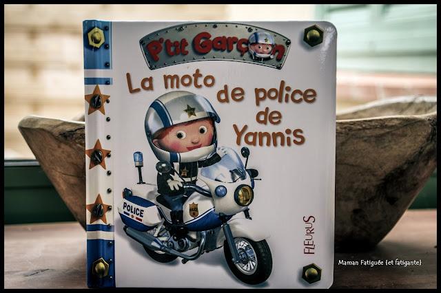 la moto de police de yanis p'tit garcon fleurus
