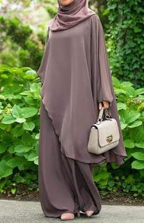 Inspirasi baju Hijab lebaran muslimah Terbaru