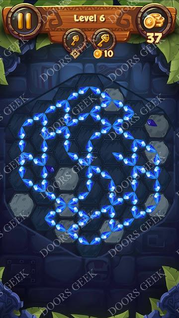 Gems & Magic [Titanium] Level 6 Solution, Walkthrough, Cheats