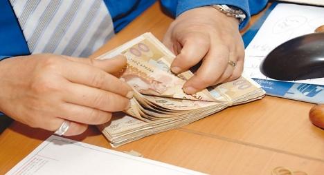 المبلغ الخام للخزينة يسجل ارتفاعا بأزيد من 100 مليار درهم