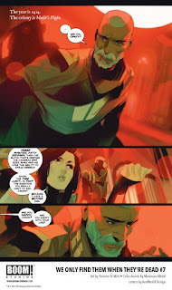 Preview de We Only Find Them When They're Dead #7, BOOM!