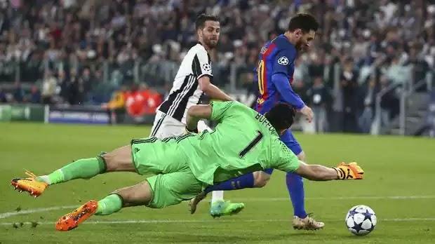 Juventus vs Barcelona Liga Champion