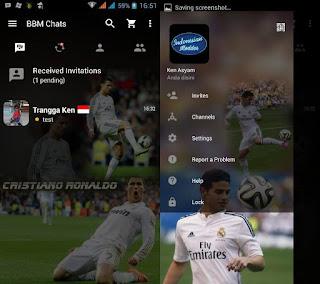 BBM Mod Cristiano Ronaldo CR7