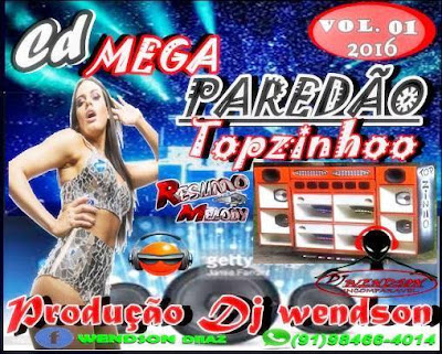 Cd Mega Paredão Topzinho vol.01