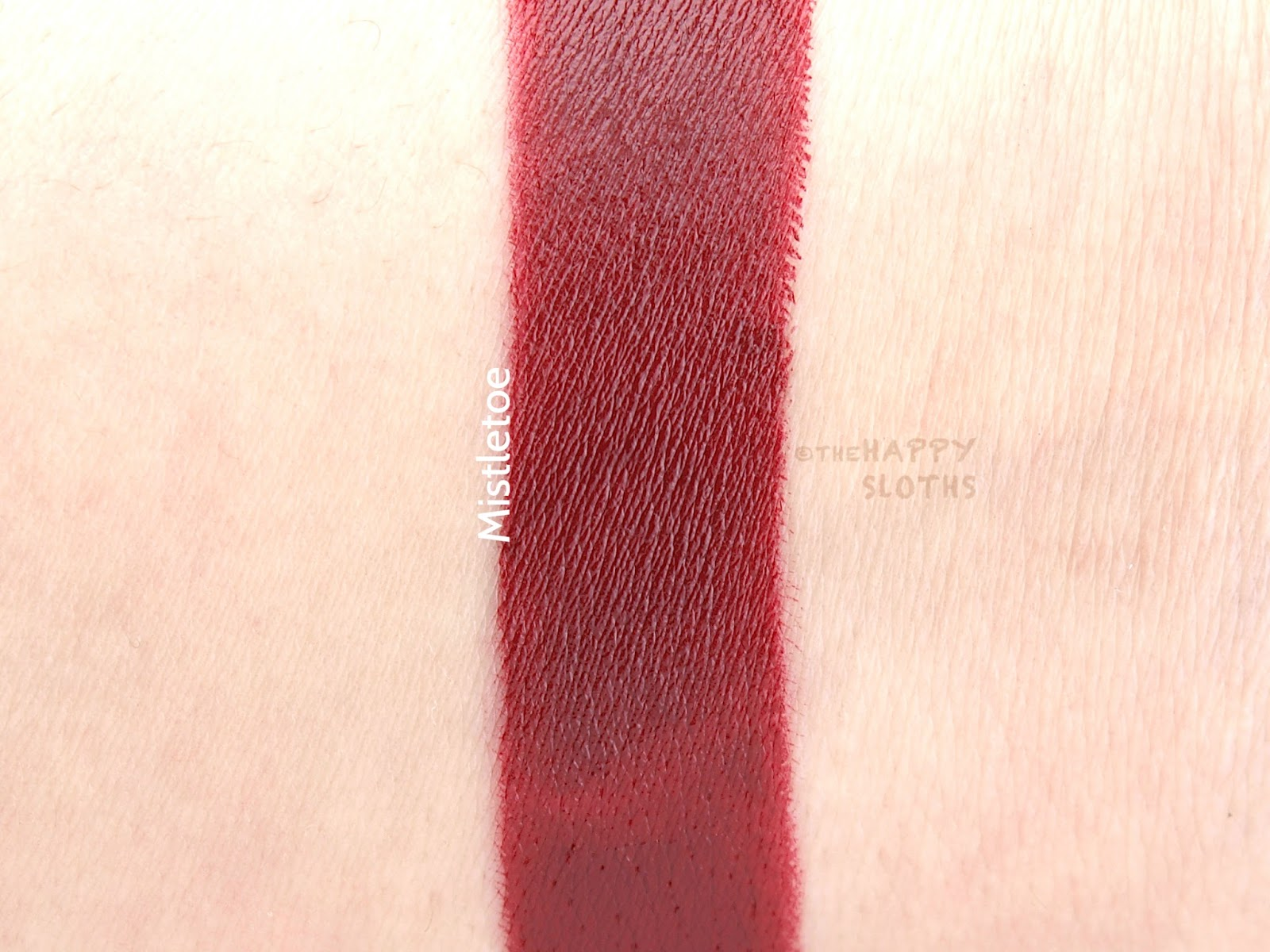 Bite Mistletoe Amuse Bouche Lipstick Review and Swatches