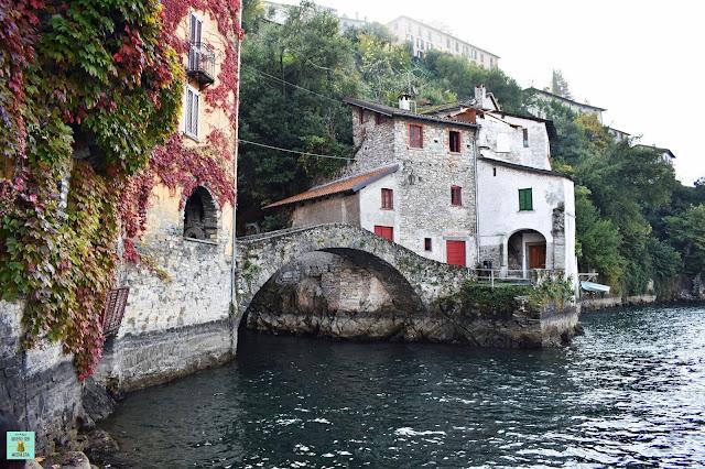 Nesso en Lago di Como, Italia