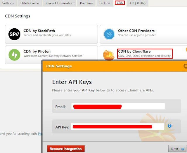 Speed Up Wordpress Using Cloudflare and WP Fastest Cache Plugin 3