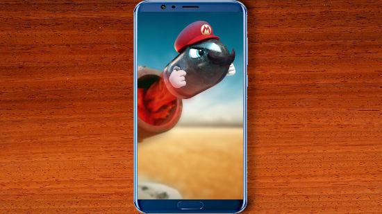 Super Mario Odyssey - Obus - QHD pour Mobile