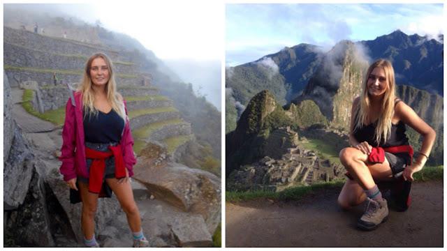 Bryony at Machu Picchu