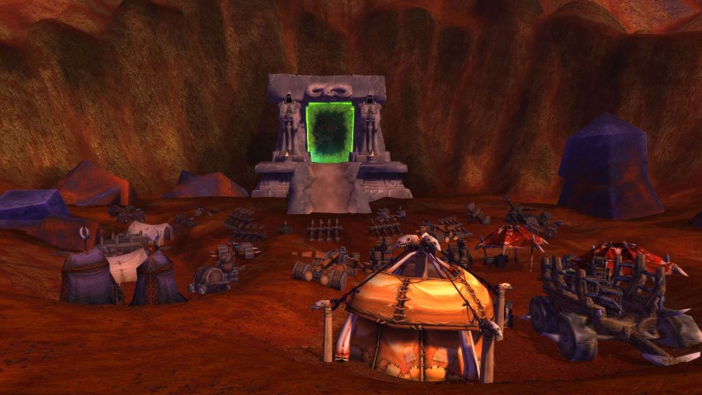 The Dark Portal in the Blasted Lands - your journey into Outland begins here.