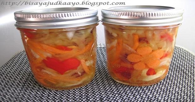 Atcharang Papaya (Pickled Green Papaya Recipe)