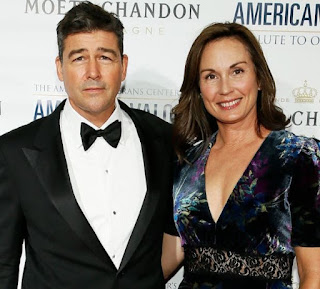 Kathryn Chandler with her husband Kyle Chandler