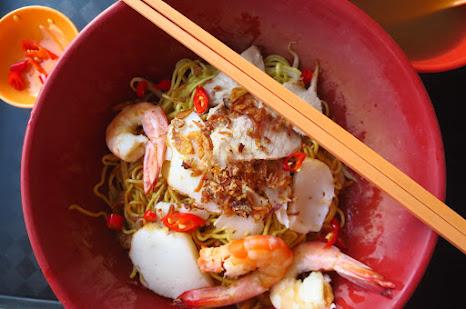 Covent Garden Prawn Noodle mee kia