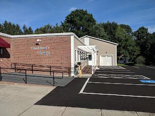 The studio at 23 Hutchinson St, Franklin, MA