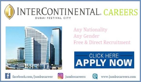 IHG InterContinental Hotel Dubai Festival City Careers 2021