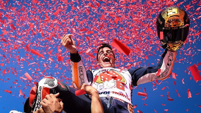 Marc Marquez dijagokan menjadi juara dunia MotoGP 2018