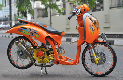 Modifikasi Scoopy Drag Style