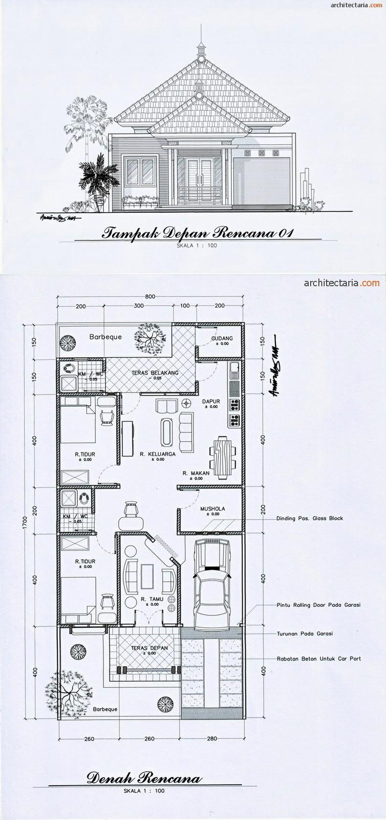 Menarik Rab Rumah Type 36 Subsidi Excel Desain Rumah ...