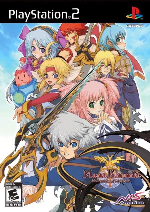 Mana Khemia: Alchemists of Al-Revis PS2