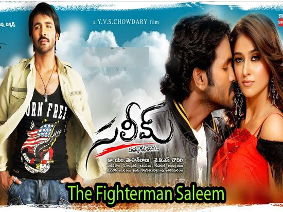 The Fighterman Saleem 2013 Hindi Dubbed 720p HDRip 850mb