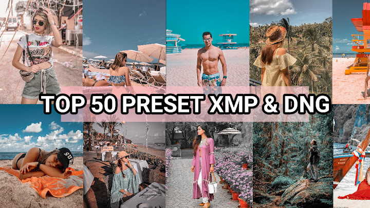 Download Preset Selebgram Top 50 XMP & 37 DNG - Lightroom mobile